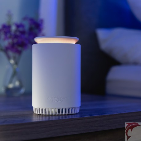 CleanLight™ Snooze 4-in-1 Air Purifier, Sound Machine, Night Light & Diffuser