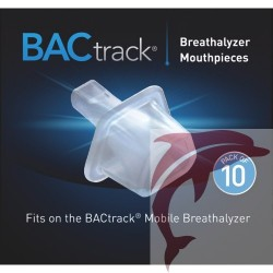 Mouthpieces for BACtrack Mobile breathalyzer