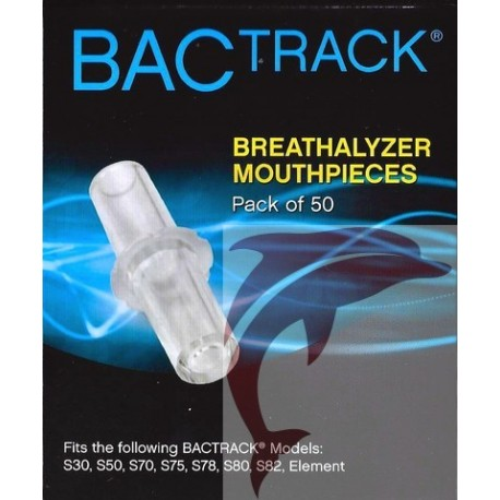 Mouthpieces for BACtrack S80 breathalyzer
