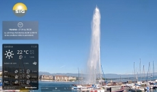 Live Webcam from Geneva Lake side